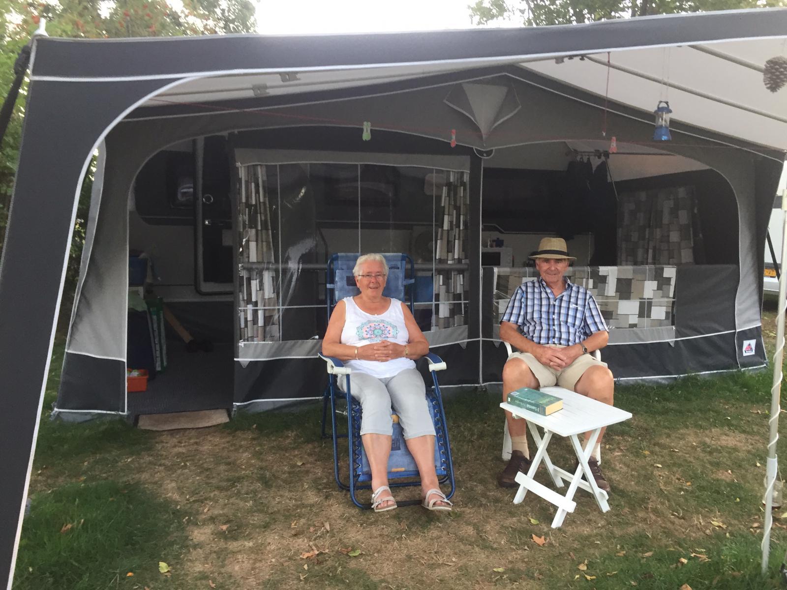Joop en Mientje op rustige camping in de Achterhoek